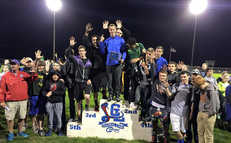 Boys Track State Champions